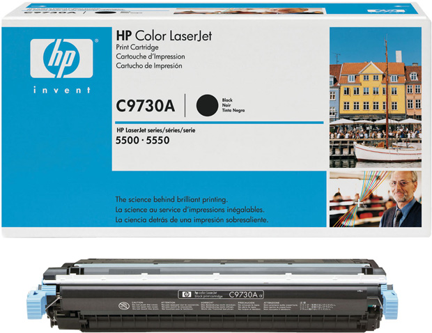 Hewlett-Packard Color Laserjet 5500 1-645A Standard Black Toner