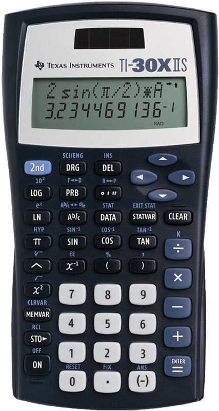 Texas TI-30XIIS Scroll 2 Line Scientific Calculator