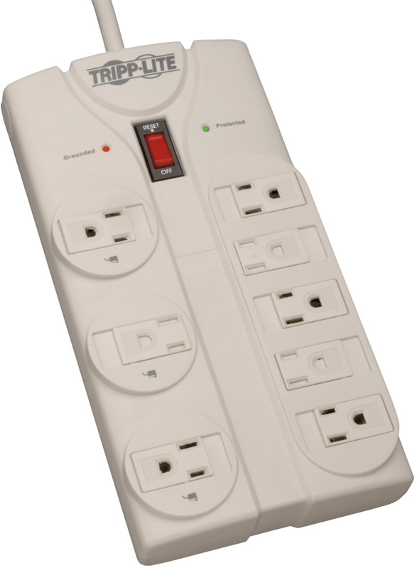 Tripplite TLP808 Surge Suppressor 8 Outlet