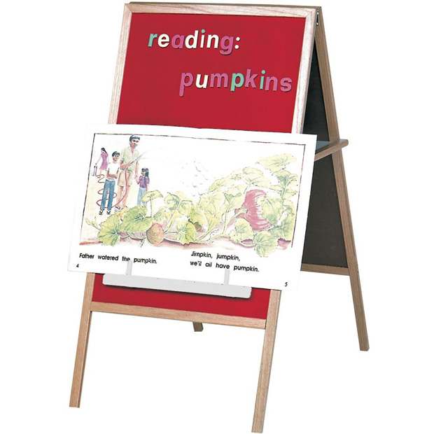 Best-Rite Magnetic Flannel Easel