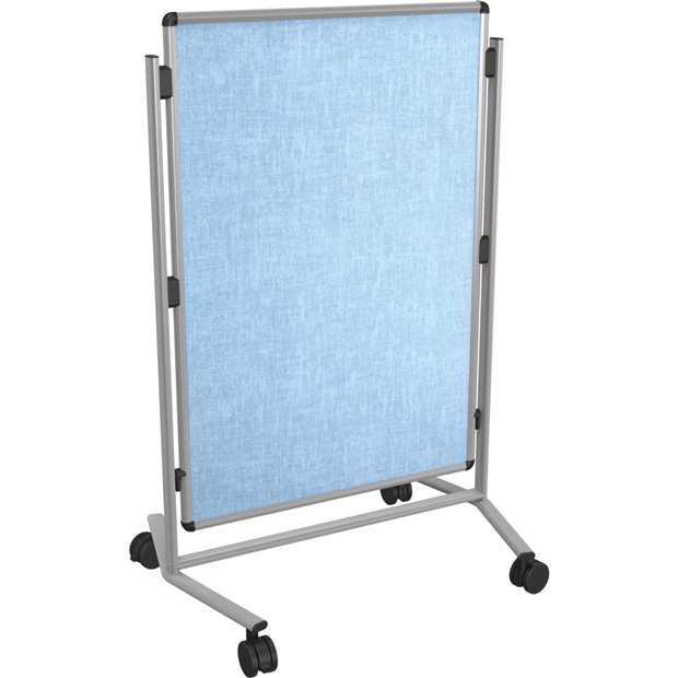 Best-Rite Modifier XV Height Adjustable Easel: Vinyl, Silver